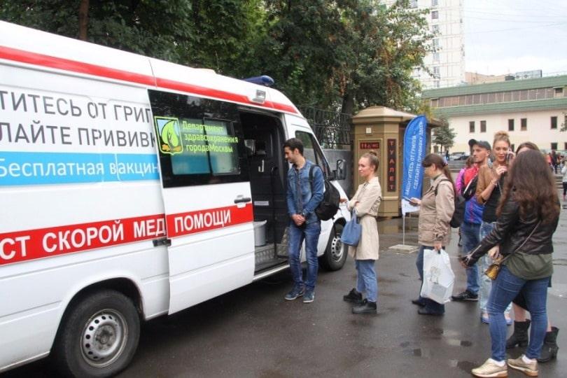Где находятся пункты вакцинации от гриппа в Москве у метро и в парках в 2019 году?